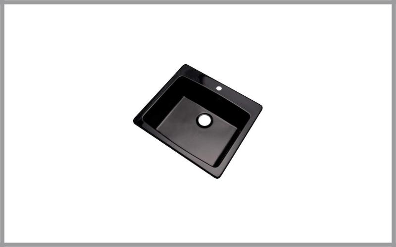 Dekor Sinks Bridgewood Composite Granite Single Bowl Sink Review