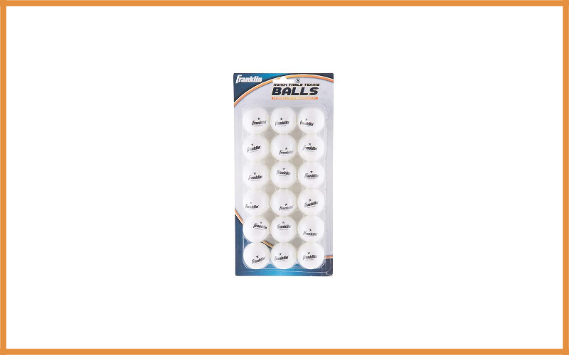 Franklin Sports 1 Star Table Tennis Balls Review
