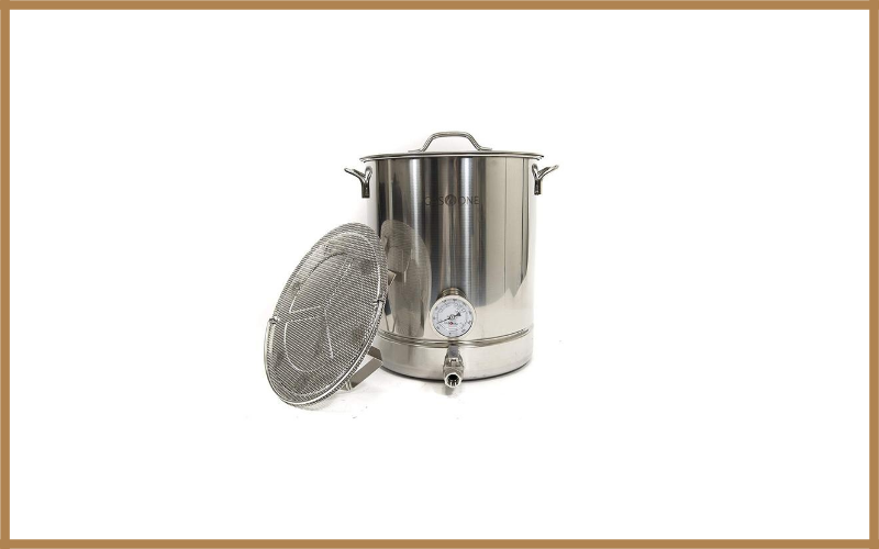 Gasone 64qt 16 Gallon Stainless Steel Home Brew Kettle Set Review
