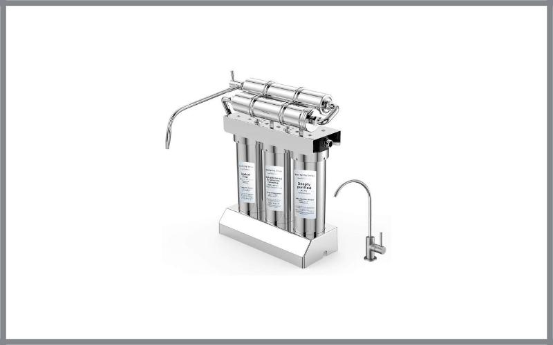 Gosoit Alkaline Water Filter System Softener System Water Purifier, Counter Top Alkaline Water Filter System Review