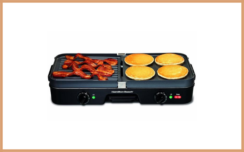 Hamilton Beach 3 In 1 Grill Griddle Review