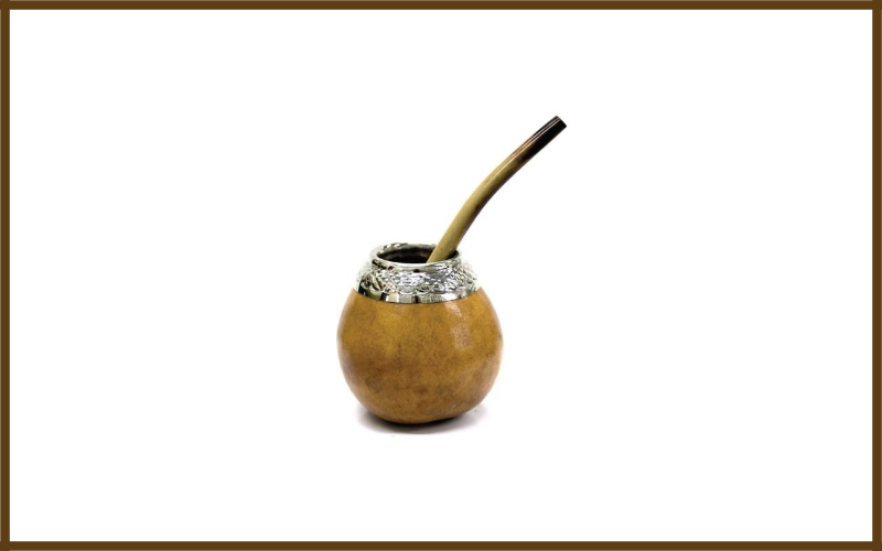 Hand Made Yerba Mate Gourd And Bamboo Bombilla Straw By Tealyra Review