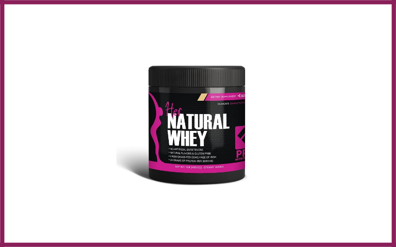 Her Natural Whey Protein Powder Review