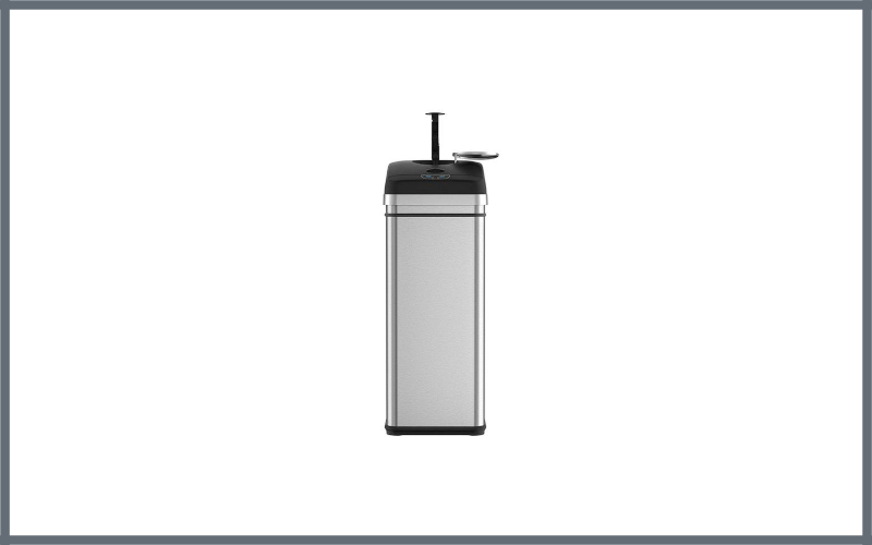 Itouchless Trash Compactor Automatic Trash Can Review
