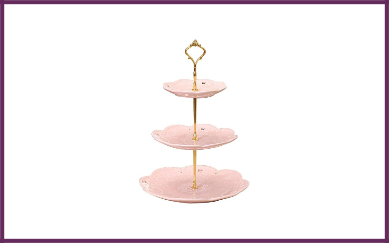Jusalpha 3 Tier Porcelain Cupcake Stand By Jusalpha Review