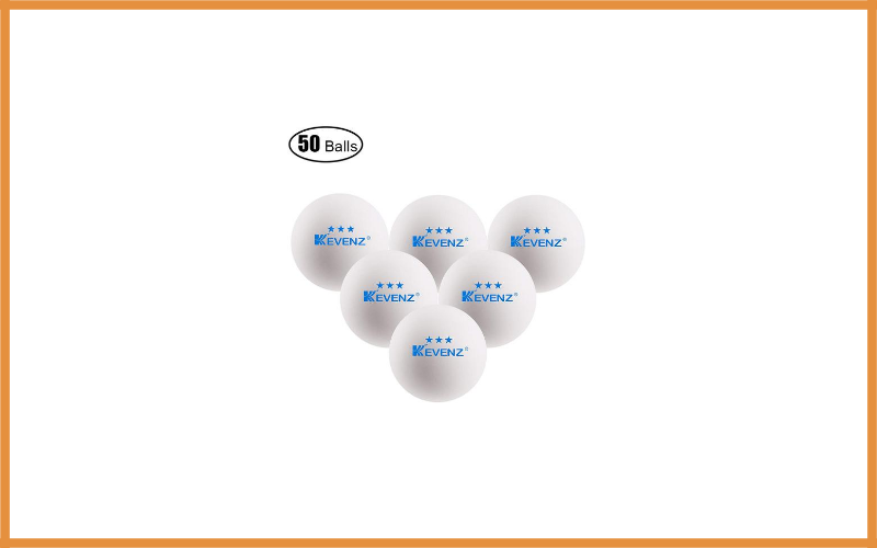 Kevenz 3 Star Table Tennis Balls Review