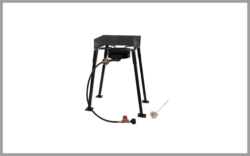King Kooker Cs14 Portable Propane 54,000 Btu Single Burner Review