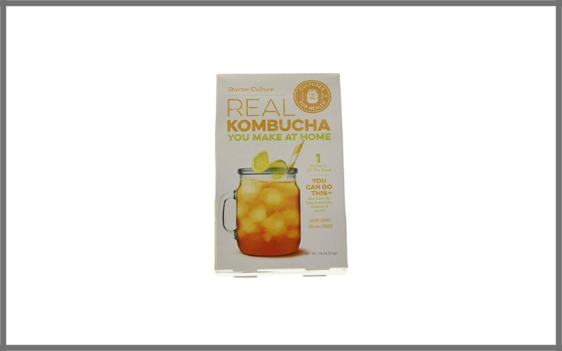 Kombucha Starter Culture Scoby For Homemade Sparkling Probiotic Tea Review