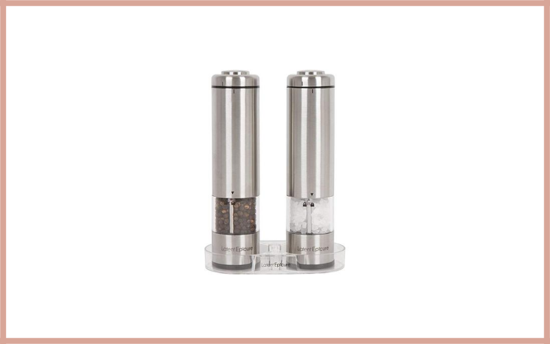 Latent Epicure Battery Operated Salt And Pepper Grinder Set Review