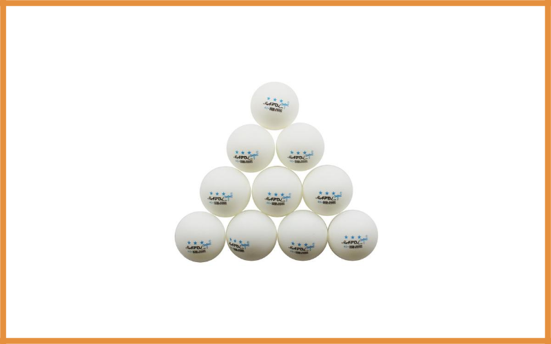 Mapol White 3 Star Premium Table Tennis Balls Review