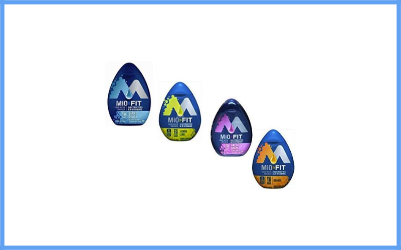 Mio Water Enhancer Fit Variety Pack Review