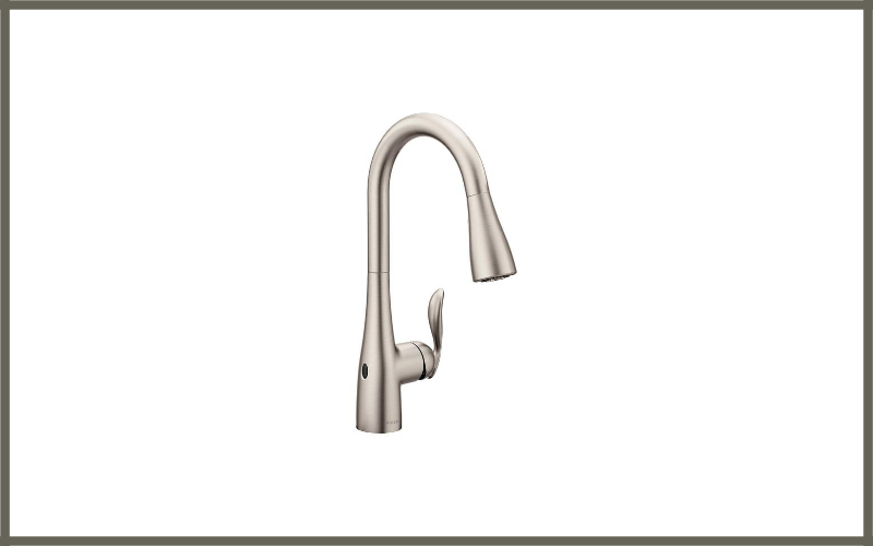 Moen Arbor Motionsense Wave Sensor Touchless One Handle High Arc Pulldown Kitchen Faucet Review