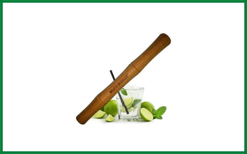 Mojito Muddler Professional Grade Bamboo Muddler Review