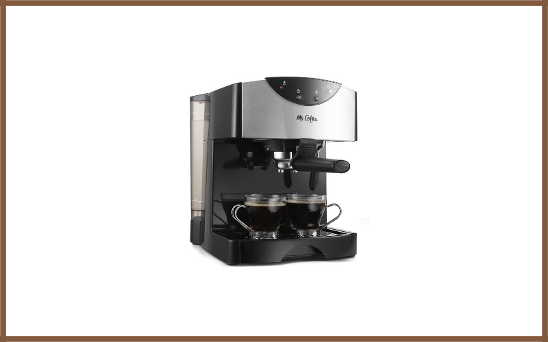 Mr. Coffee Automatic Dual Shot Espresso Cappuccino System Review