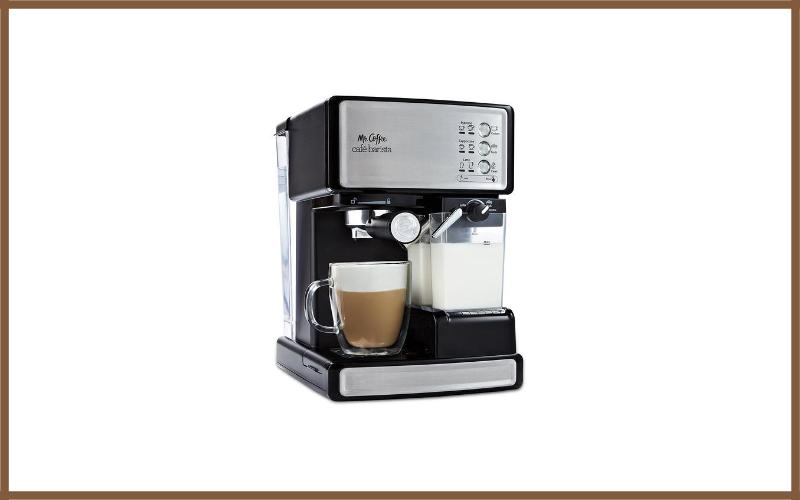 Mr. Coffee BVMC-ECMP1000-RB Café Barista Espresso Maker