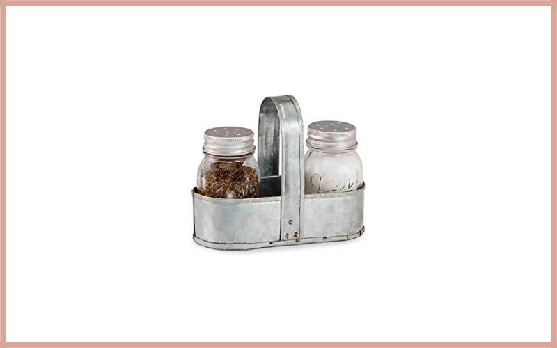 Mud Pie Salt And Pepper Fresh Jar Caddy Set Review