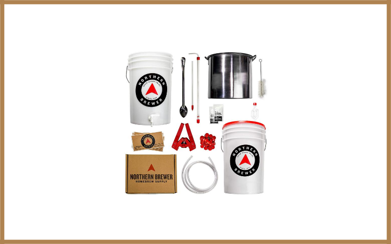 Northern Brewer Homebrewing Starter Set Equipment For Making 5 Gallons Of Homemade Beer Review