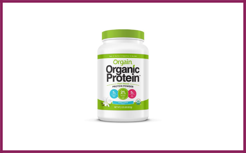 Orgain Organic Plant Based Protein Powder Review
