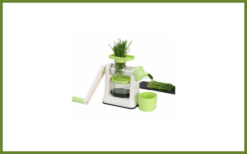 Ourok Manual Wheatgrass Hand Juicer Review