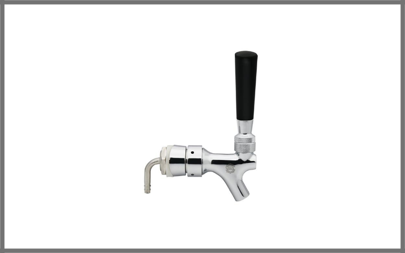 Pera Draft Beer Keg Faucet With Flow Controller Chrome Plating Shank Tap Kit Review
