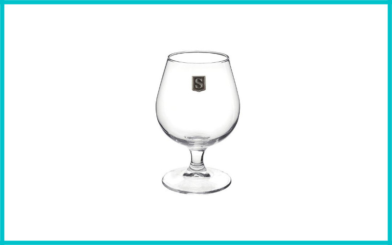 Personalized Cognac Whiskey Glass Monogram Initial Pewter Engraved Crest Review