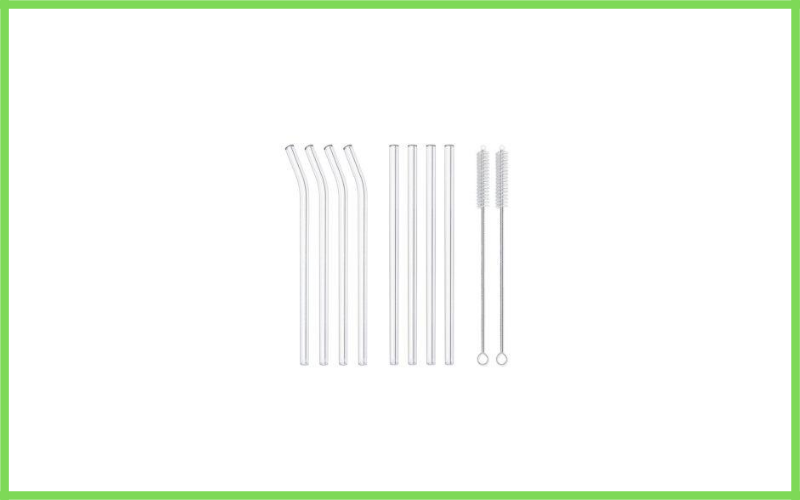 Reusable Glass Straws Environmentally Friendly By Hiware Review