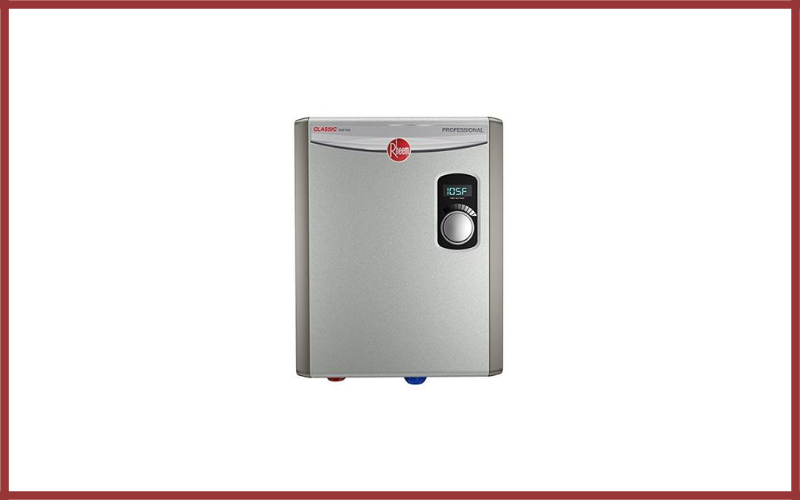 Rheem Rtex 18 240v 2 Heating Chambers Residential Tankless Water Heater Review
