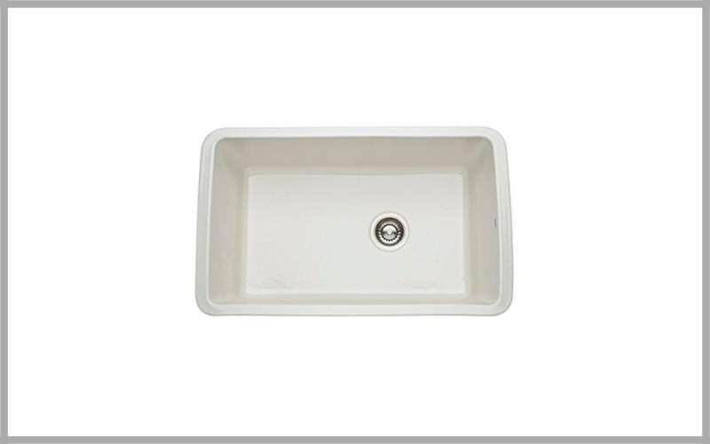 Rohl 31 18 Inch By 19 58 Inch By 11 Inch, 31 Inch Single Bowl Allia Undermount Fireclay Kitchen Sink Review