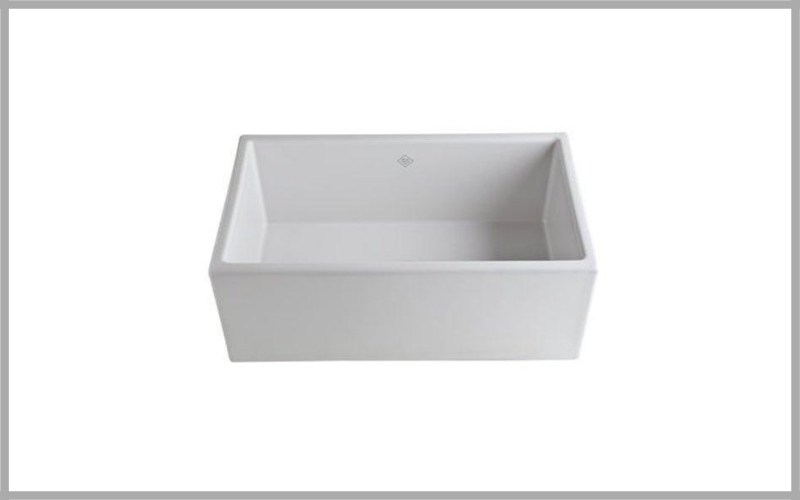 Rohl Ms3018wh Shaws Classic Modern Apron Front Single Bowl Fireclay Kitchen Sink Review