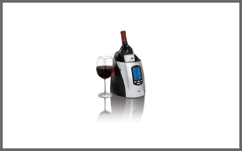 Single Wine Chiller Black By Sharper Image Review