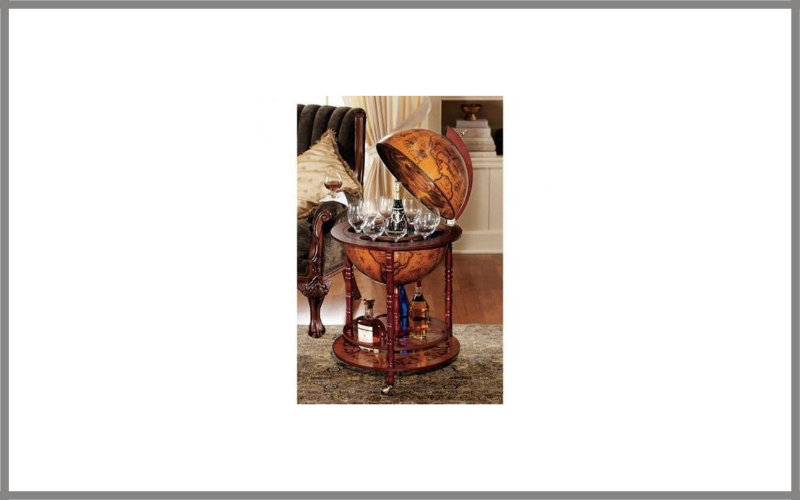 Sixteenth Century Italian Replica Old World Globe Bar Review