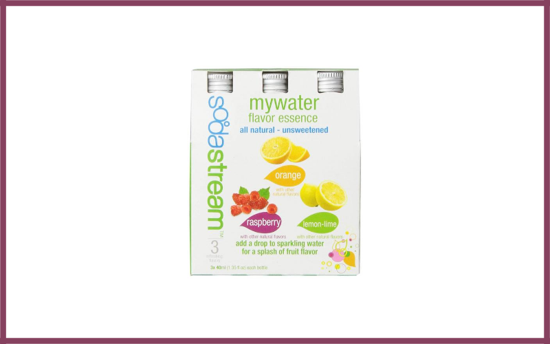 Sodastream My Water 3 Pack Syrup Review