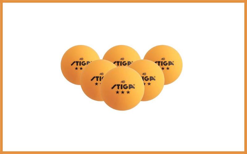 Stiga 3 Star Superior Quality Orange Table Tennis Balls Review