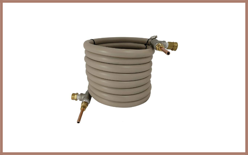Super Efficient Counterflow Wort Chiller Review