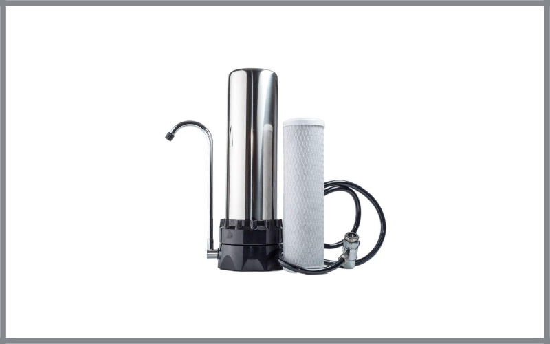 The Stainless Steel Countertop Water Purifier Filter Review