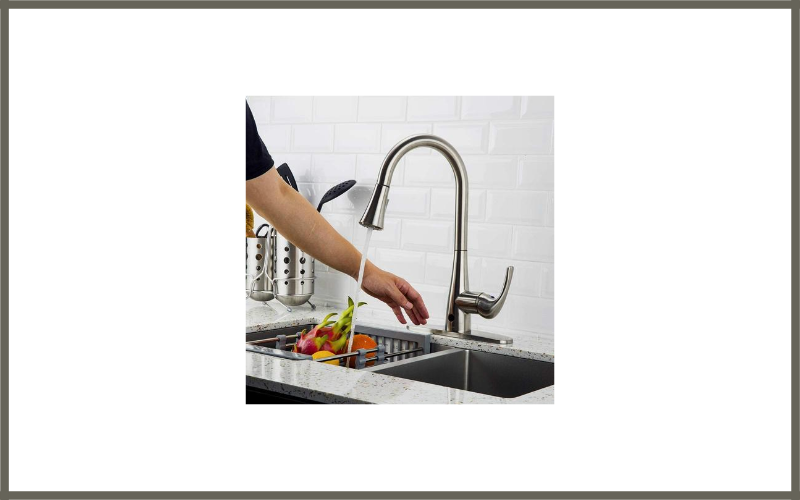 Touchless Kitchen Faucet With Pull Down Sprayer By Forious Review