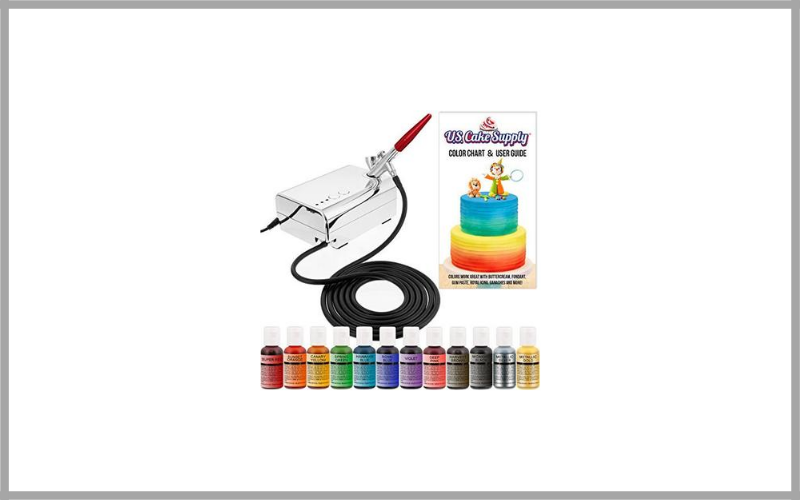 Us Cake Supply Complete Decorating Airbrush Kit Review