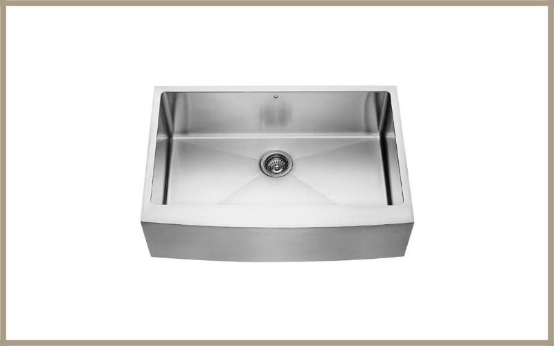 Vigo Vgr3320c 33 Inch Farmhouse Apron Front 16 Gauge Single Bowl Stainless Steel Kitchen Sink Review