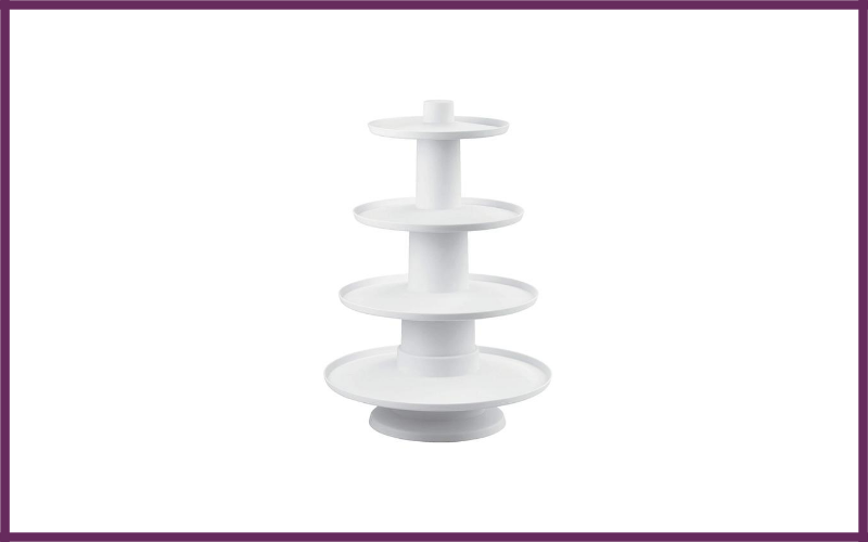 Wilton 4 Tier Stacked Cupcake And Dessert Tower By Wilton Review