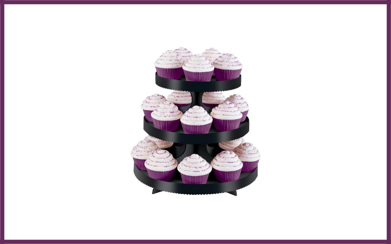 Wilton Borders Cupcake Stand Review