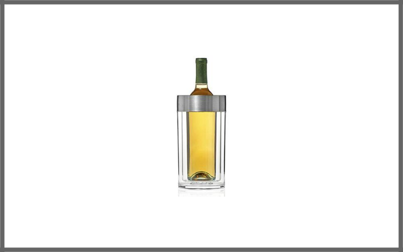 Wine Enthusiast Double Walled Iceless Wine Bottle Chiller Review