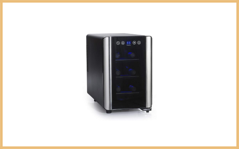 Wine Enthusiast Silent 6 Bottle Touchscreen Wine Cooler Review