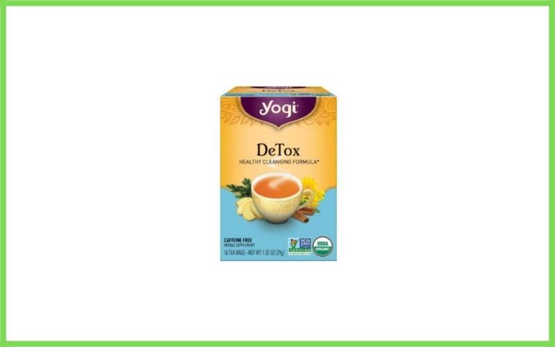 Yoga Herbal Detox Tea Review