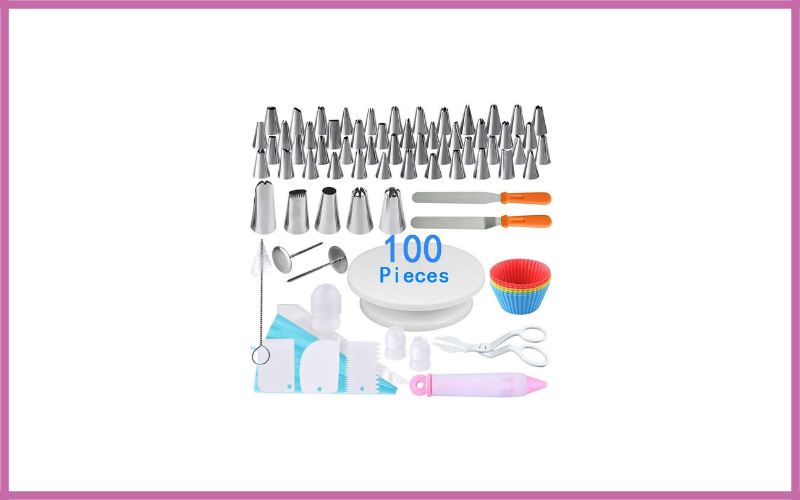 100 Pieces Cake Decorating Supplies Kit For Beginners By Austor Review