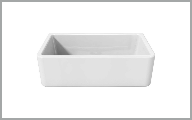 33″ Reversible Fireclay Farmhouse Sink Lfs3318w By La Toscana Review