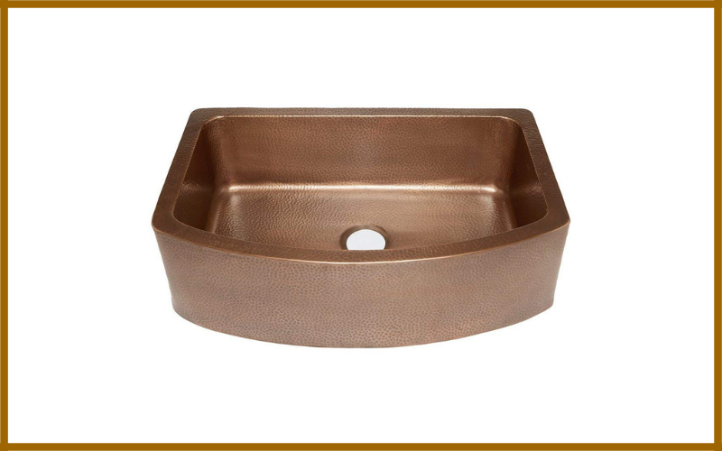 Sinkology Sk304 33b Ernst Farmhouse Apron Handmade Pur Bow Front Single Bowl Sink Review