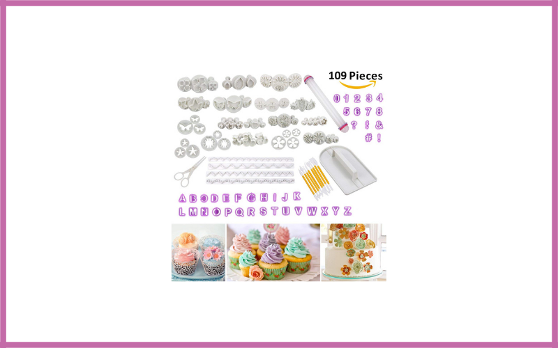 Cadrim 109pcs Fondant Sugarcraft Cake Decorating Tools Review
