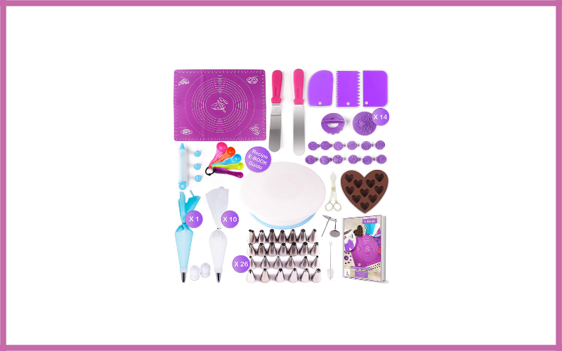 Cake Decorating Supplies Kit For Beginners 73pcs By Halcyonxware Review