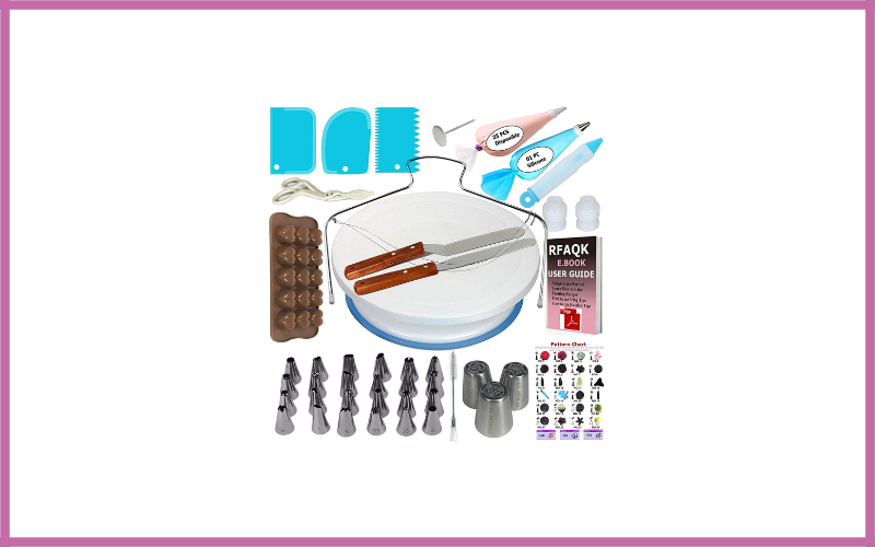 Cake Decorating Supplies Kit For Beginners By Rfaqk Review