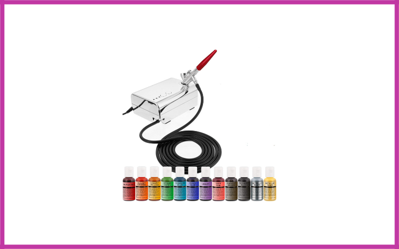 Complete Cake Decorating Airbrush Kit By Us Cake Supply Review